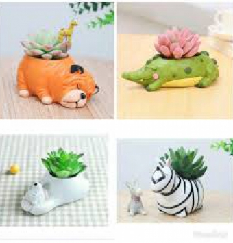 فروش عمده گلدان حیوانات