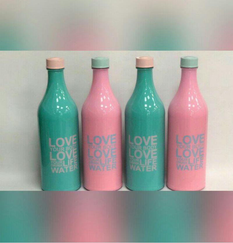 فروش عمده بطری پاستیلی طرح لاو