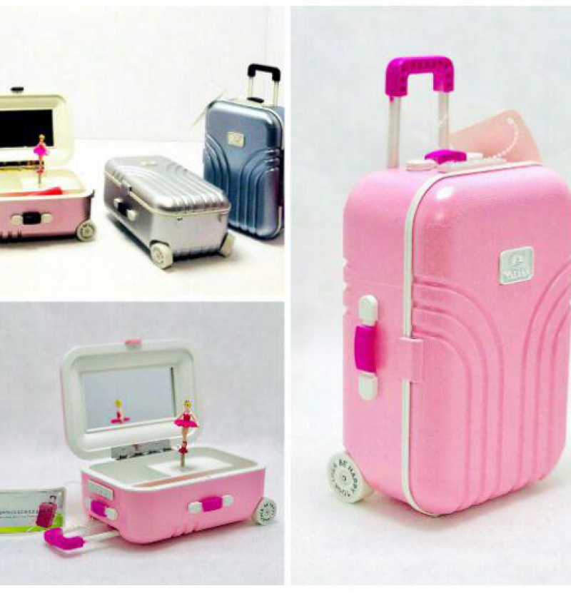 فروش عمده چمدان دكوري موزيكال