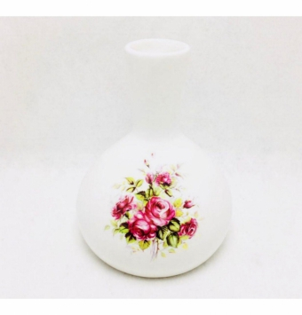 فروش عمده گلدان توپي گلدار