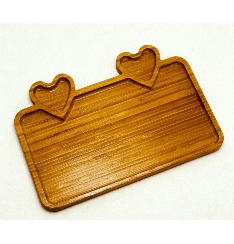 فروش عمده اردوخوری چوبی مربعی  (ساخت چین)