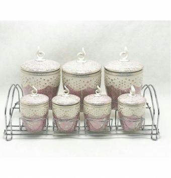 فروش عمده سرویس پاسماوری گلدار
