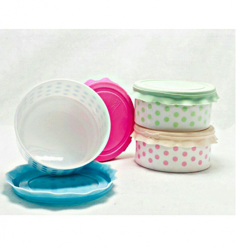 فروش عمده ظرف پلاستيكى در سيلكونى سايز ٤