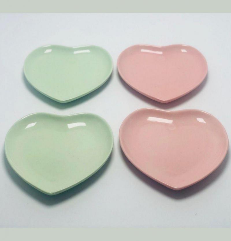 فروش عمده پیش دستی قلبی سرامیک evstyle