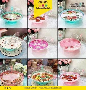 کاپ کیک پایه دار پلاستیکی