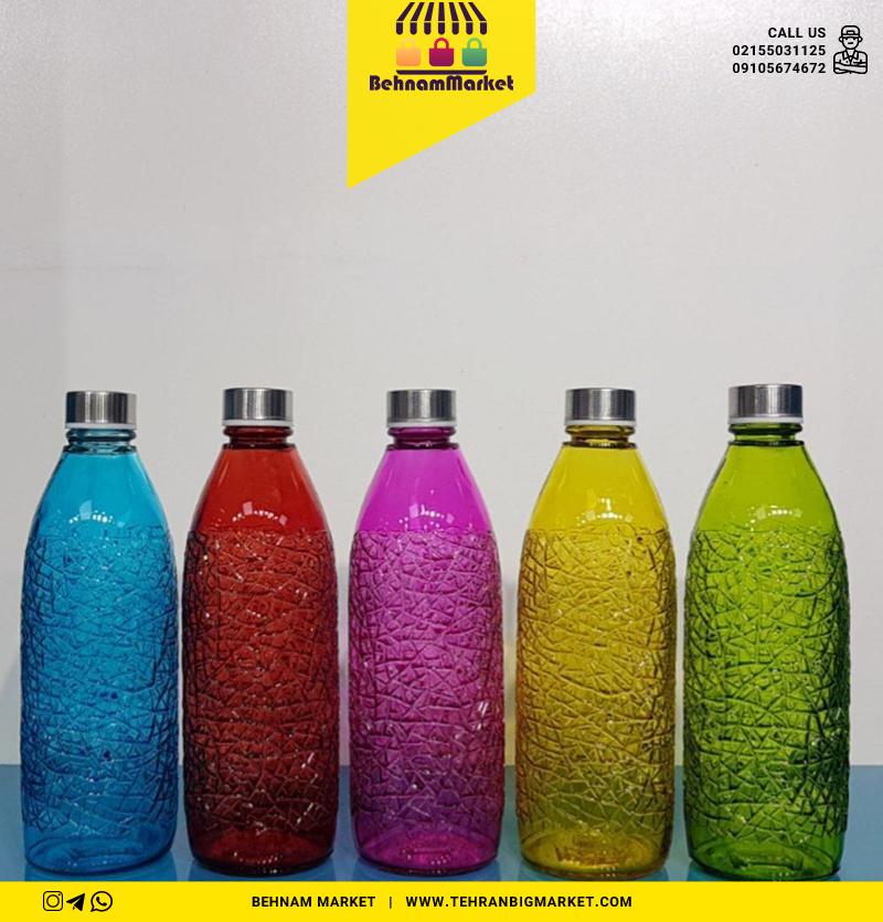بطری سبز کاراتاچی رنگی ۱/۵ لیتری