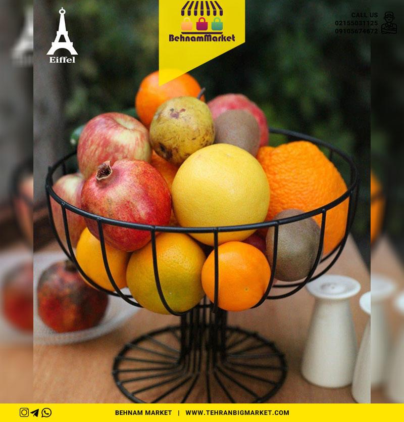 سبد میوه مشکی ایفل
