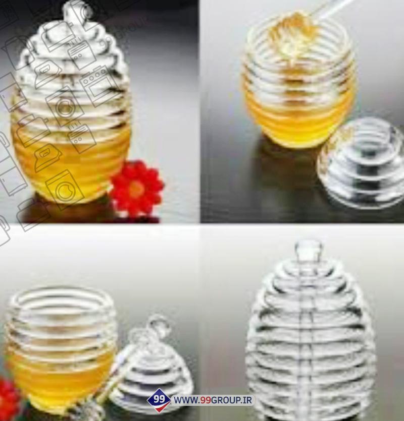 ظرف عسل اكروليک بزرگ