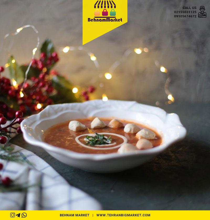 کاسه گود سوپ خوری گل بزرگ