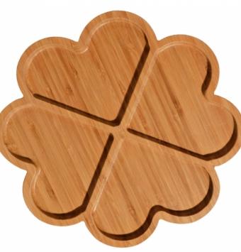 اردوخوری چوبی قلبی